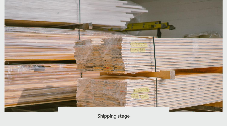timberthane process shipment
